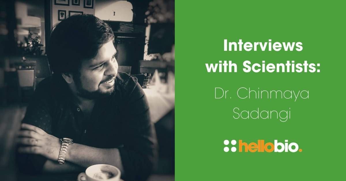 Interviews with Scientists: Dr. Chinmaya Sadangi