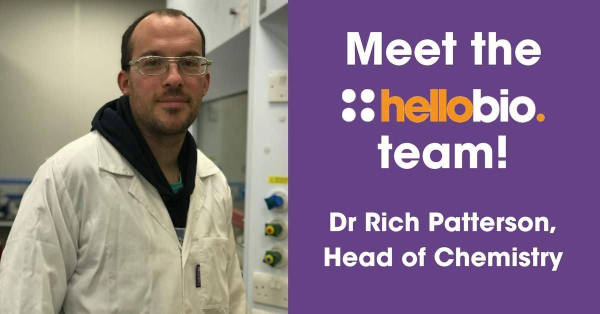 Meet the Hello Bio team: Dr Richard Patterson