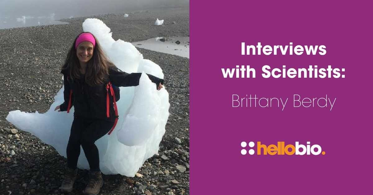Interviews with Scientists: Brittany Berdy