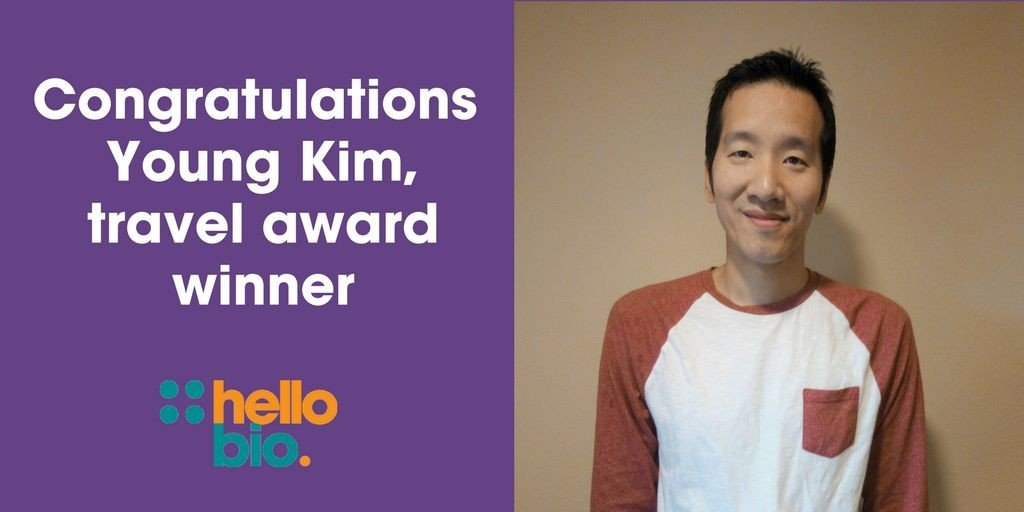 Travel award winner Young Kim