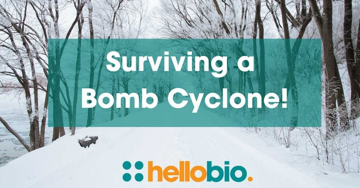 Surviving a Bomb Cyclone: Tales from the US Office