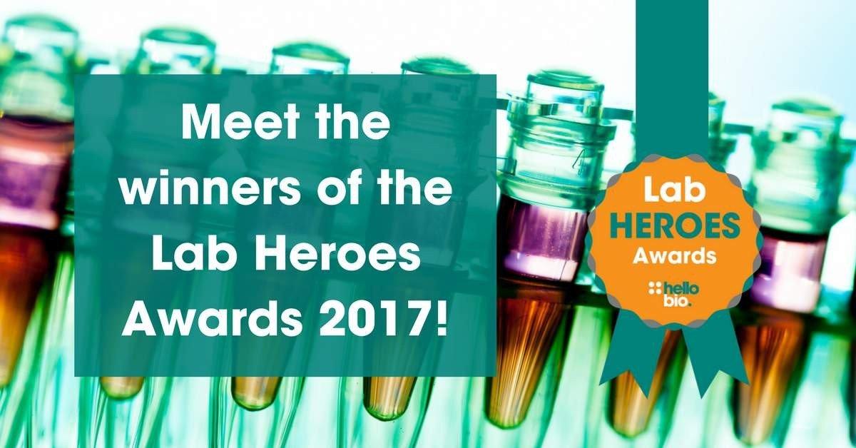 Lab Heroes 2017 Winners