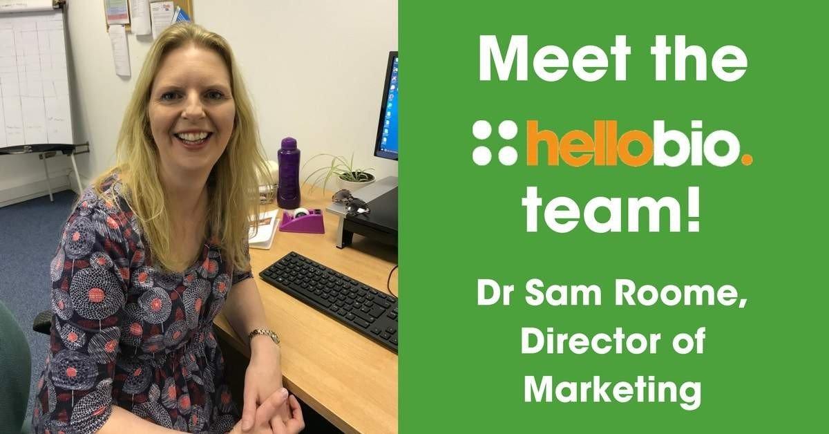 Meet the Hello Bio Team: Dr Sam Roome