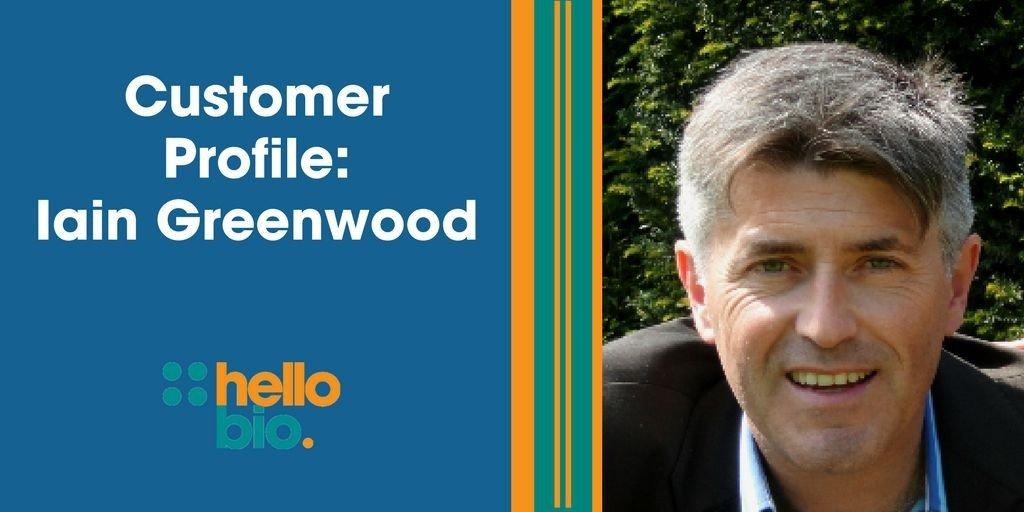 Customer profile: Iain Greenwood