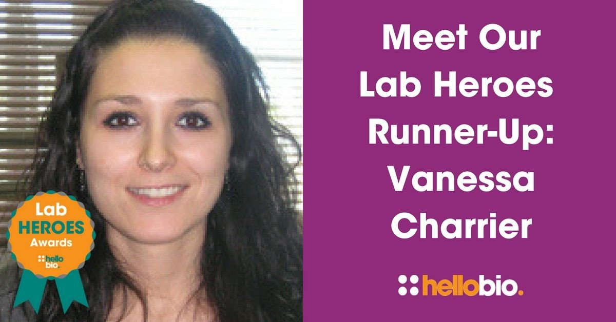 Meet Our Lab Heroes Awards Runner-Up: Vanessa Charrier