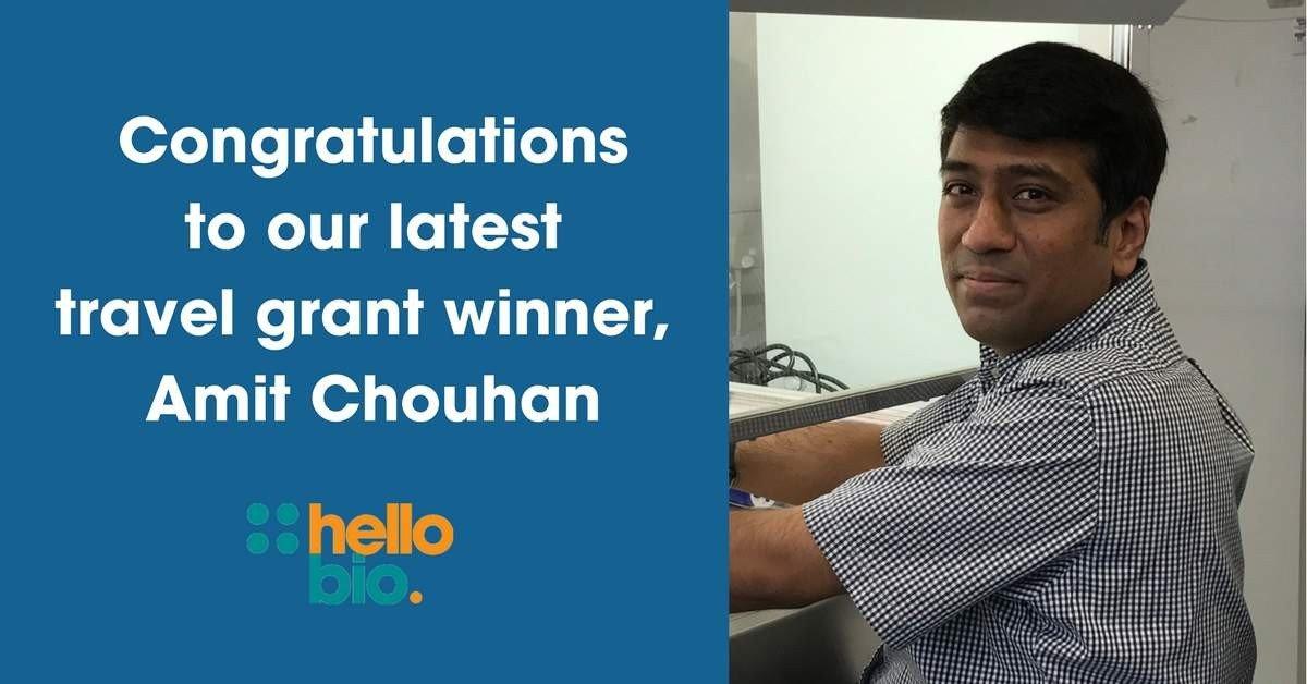 Travel award winner Amit Chouhan