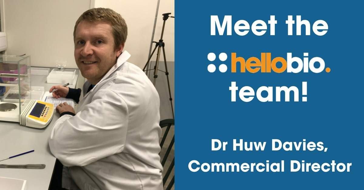 Meet the Hello Bio Team: Dr Huw Davies