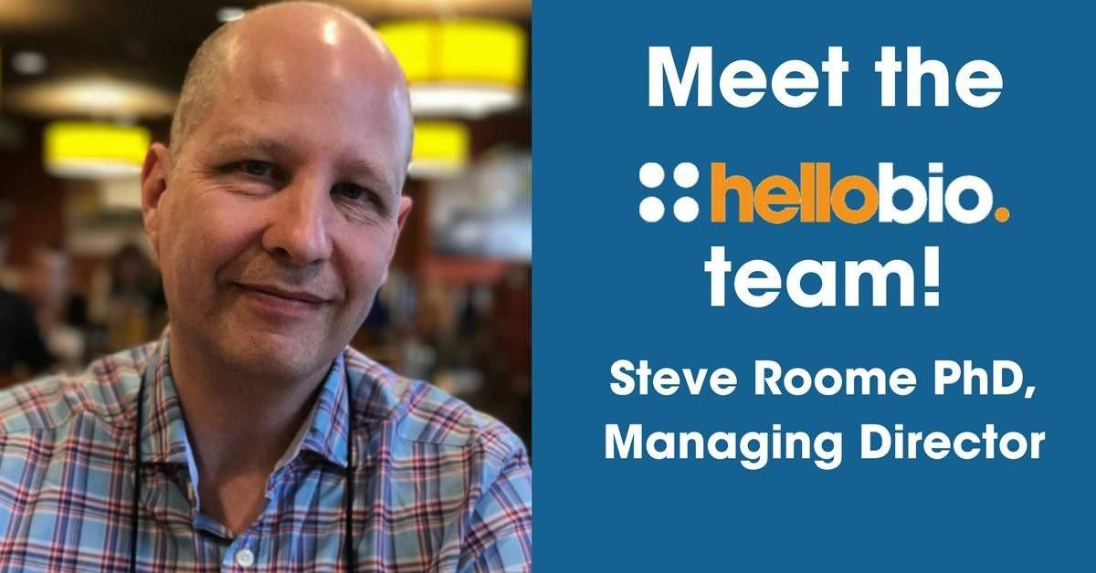 Meet the Hello Bio team: Dr Steve Roome