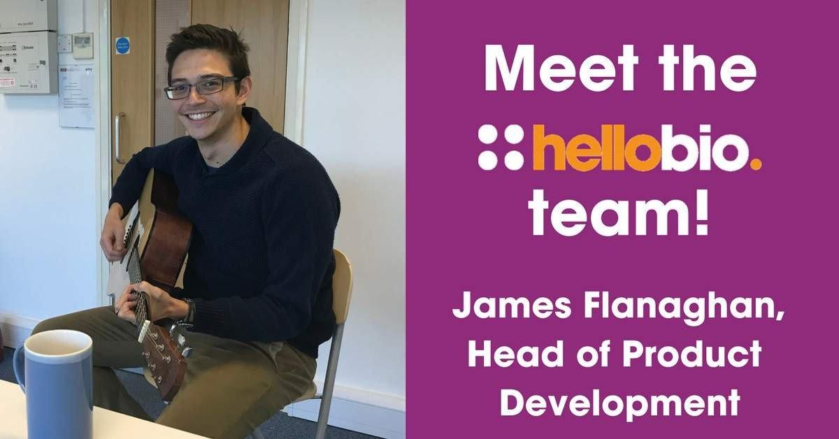 Meet the Hello Bio team: James Flanaghan