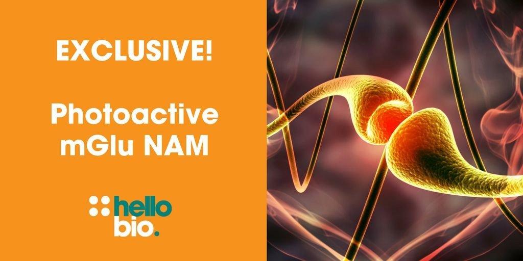 First photoactive mGlu5 receptor NAM analgesic