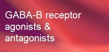 GABA-B receptor agonists, antagonists & modulators