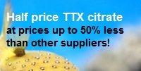 Half price tetrodotoxin citrate